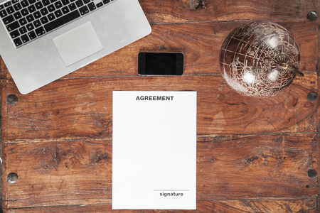 copy space: Agreement and copy space