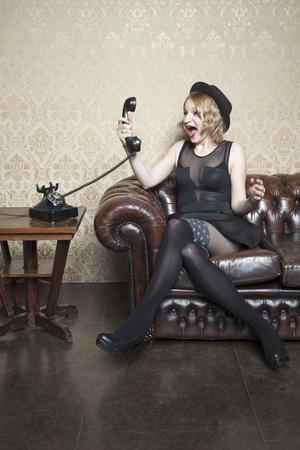 enraged: enraged lady yelling on the phone