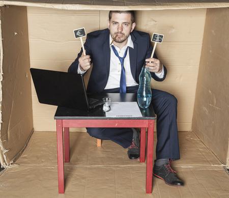 careerist: Drunk businessman boasts earnings