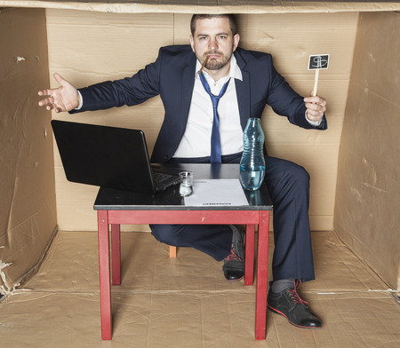 careerist: Drunk businessman is irresponsible