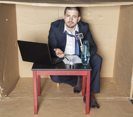 careerist: businessman ribs minor