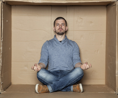 meditation room: meditation in a small room