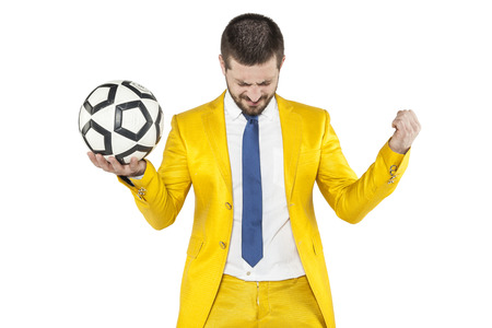 individualist: Success in football Stock Photo