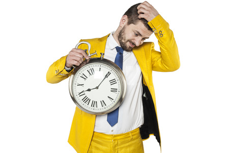 reverie: lack of time for other solutions Stock Photo