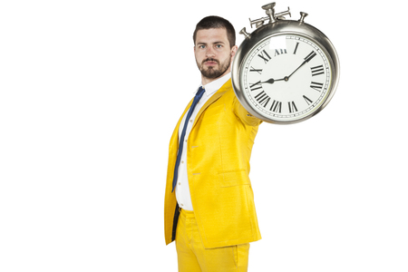 snění: warning from a businessman for being late to work