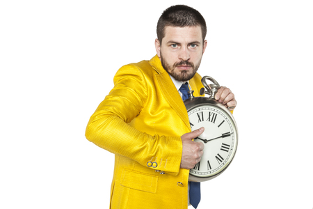 individualist: Young businessman trying to steal a little time for yourself