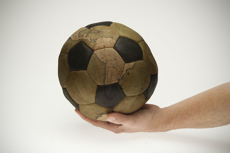 governed: world is governed by football Stock Photo