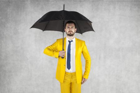 agente de seguros listo para la tarea