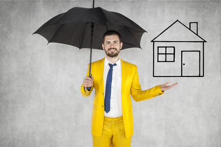 formalities: insurance agent insure your house