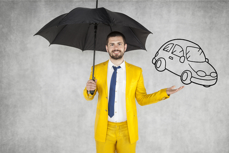 formalities: insurance agent insure your car