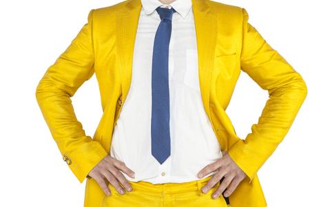 resourcefulness: fighting attitude businessman, confidence Stock Photo