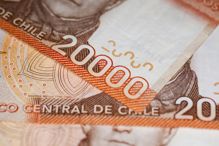 Money comes from chile Stock Photo