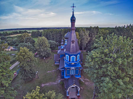 Orthodox Church of the ,, Protection of the Mother of God`` in Puchly, Poland