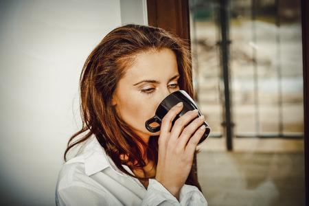 louver: Morning sunshine and good coffee.