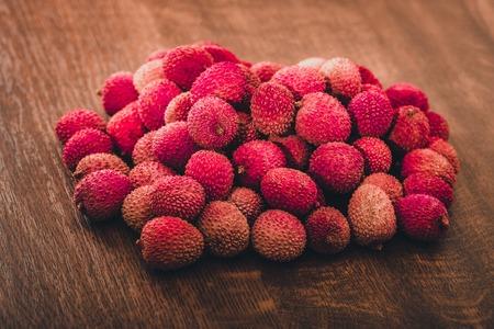 Fresh lychee fruit