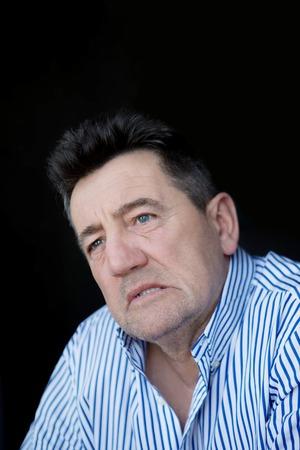 aging face: Portrait of senior man.