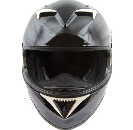 Motorcycle helmet photo
