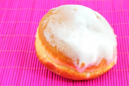 Donut with frosting