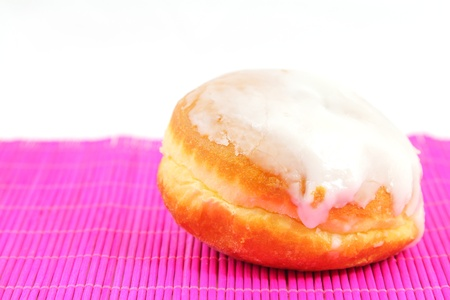 Doughnut with frosting