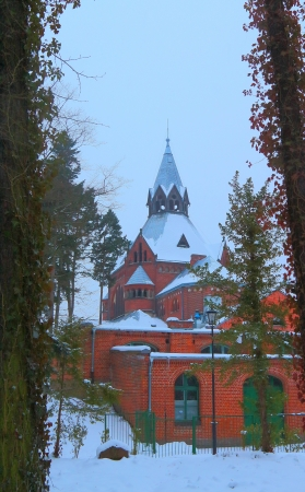 Church in the forrest