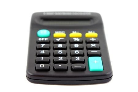 Small calculator Stock Photo