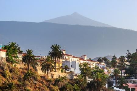 Tenerife and volcano