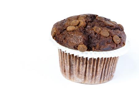 Black muffin Stock Photo