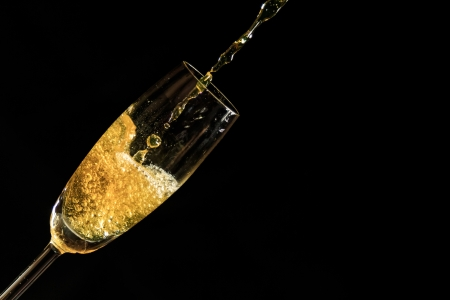Champagne and Bubbles Stock Photo