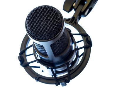 condenser: Condenser Microphone Stock Photo