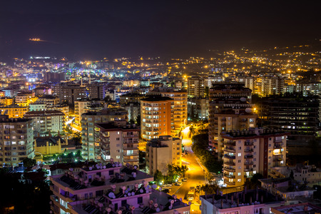 Alanya at night