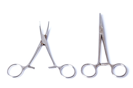 Surgical tools Stock Photo