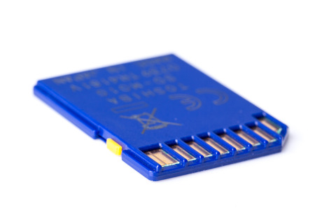memory card: Memory card Stock Photo