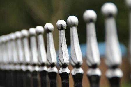 steel: steel fence
