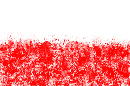 polish flag: Polish flag created from splash colors white and red. Stock Photo