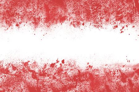 austrian flag: Austrian flag made of colorful splashes