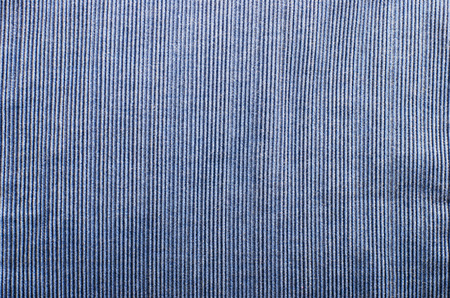 corduroy: Blue corduroy fabric texture close- up photo background.
