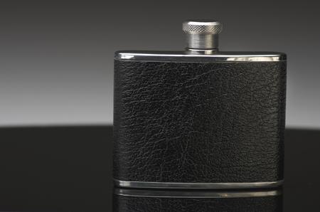 hip flask: Hip flask.