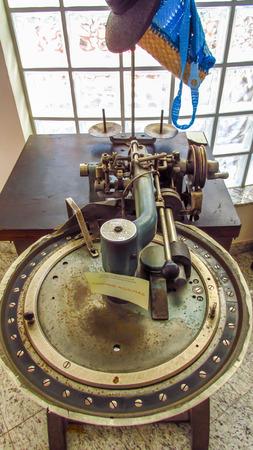 seniority: Sewing machine Stock Photo