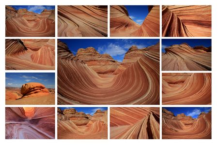 The Wave - Paria Canyon Stock Photo - 5959366