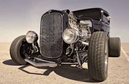 car tuning: hot rod