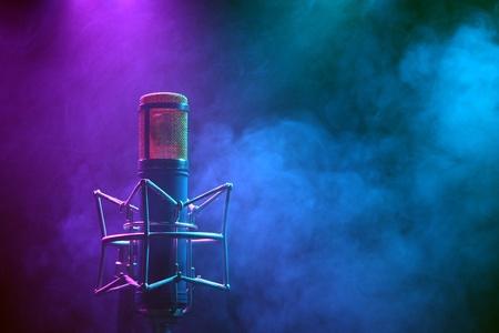 mikrophone 스톡 콘텐츠