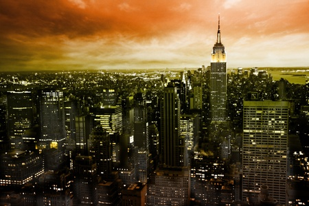 congested: mystic New York Stock Photo