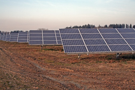 photovoltaic power plant photo