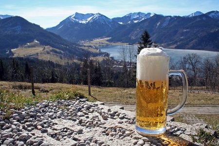 little rest at the Bavarian Alps photo