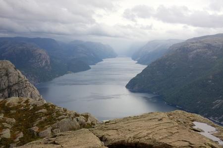 Lysefjord Stock Photo