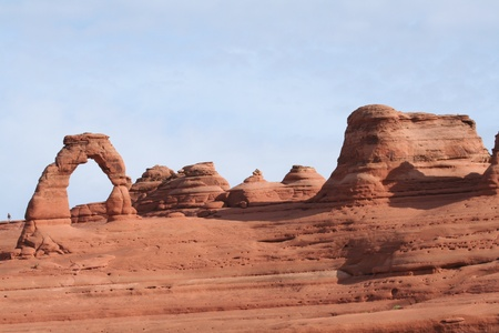 rock canyon: Delicate Arch