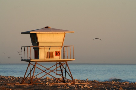 lifeguard station photo
