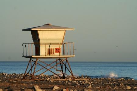 lifeguard station photo