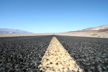 highway at Death Valley Stock Photo - 11834013