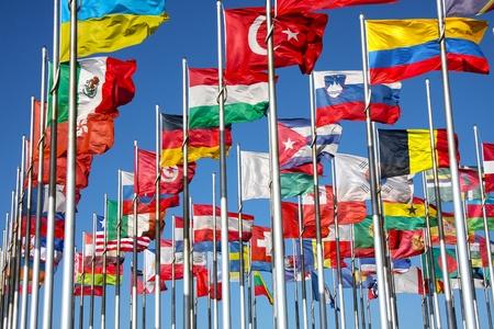 세계의 국기 스톡 콘텐츠